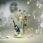 """巴黎之花呈献设计师托德·布歇尔优雅之作""""梦幻花树"""""""