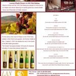 "Lorentz Klipfel Alsace wine dinner at LAN Club(""兰""俱乐部) with Bacchus Wines"