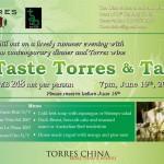 桃乐丝中国- 品尝桃乐丝 /Torres China- Taste Torres@Tao