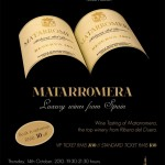 西班牙玛达罗梅拉品酒会/Wine tasting of MATARROMERA, Luxury Wines from Spain