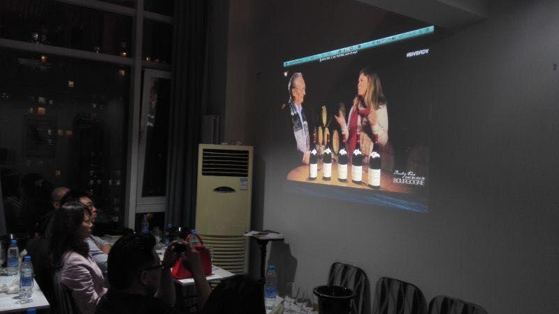 """[活动总结]2015-03-11,万欧兰葡萄酒俱乐部系列129,""""BIVB勃艮第连线大师班"""""""