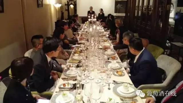 欧洲葡萄酒创始者联盟晚宴喝什么
