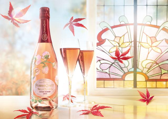 巴黎之花秋韵限量版美丽时光2005年份桃红香槟发布