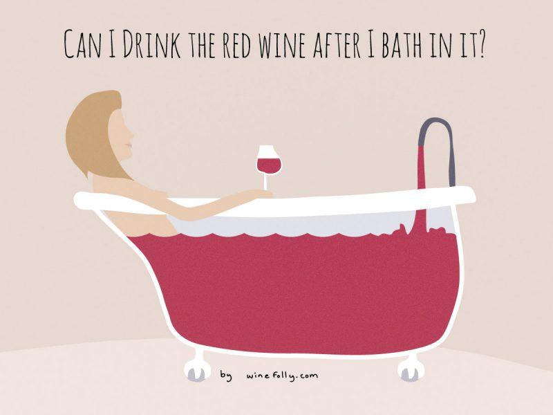 红酒浴真的会让皮肤变年轻吗