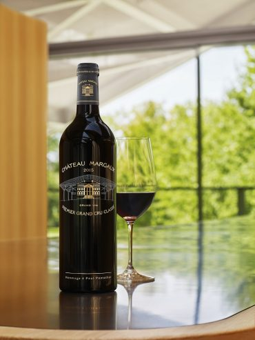 玛歌酒庄为2015年份玛歌顶级佳酿设计了全新酒瓶