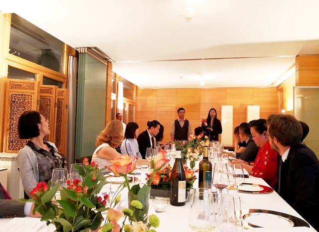 瑞士葡萄酒品鉴会及晚宴,在瑞士驻华大使官邸举办