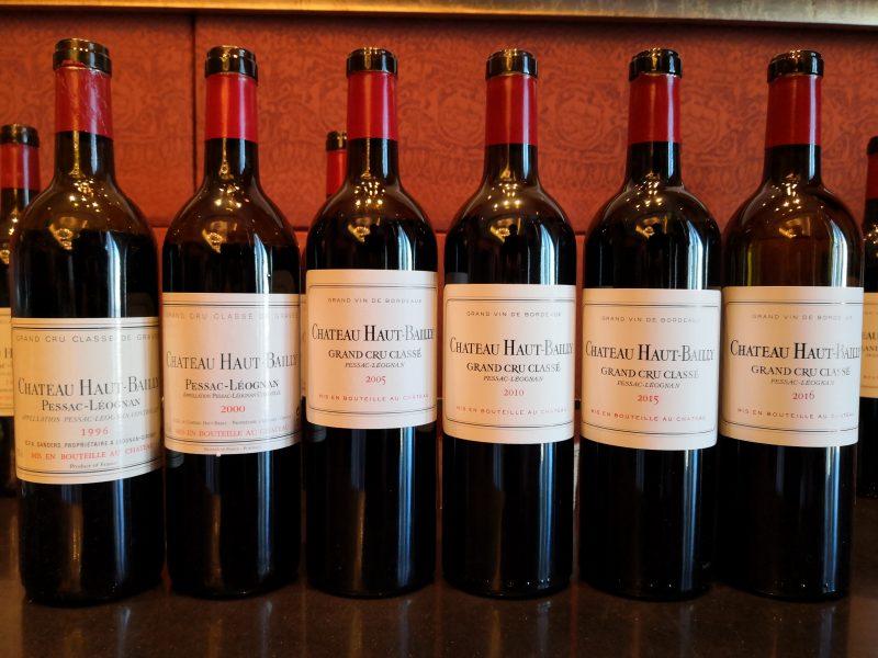 波尔多名庄Chateau Haut-Bailly高柏丽酒庄在京举办顶级年份垂直品鉴会